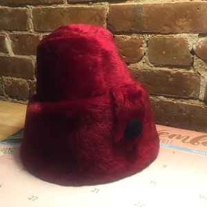 Repost - Otto Lucas Lipstick Red Hat VINTAGE 1950
